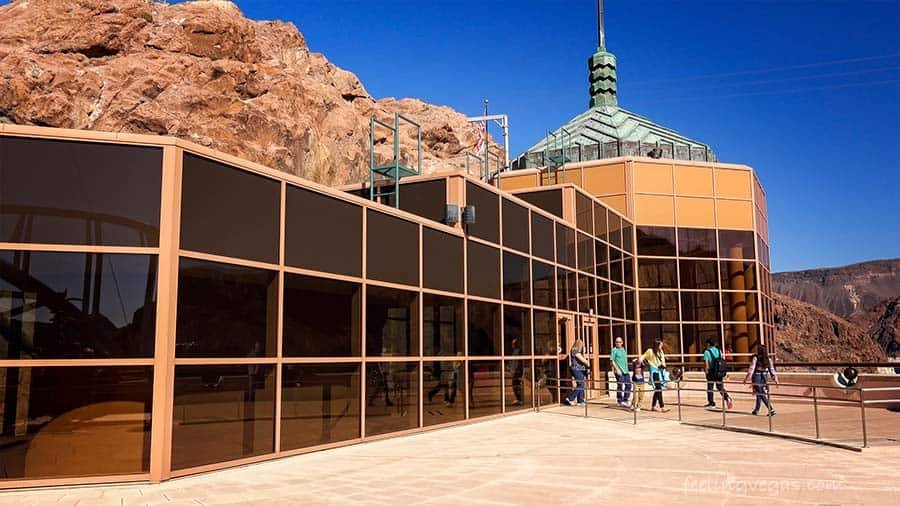 Hoover Dam Visitors Center and Observation Deck