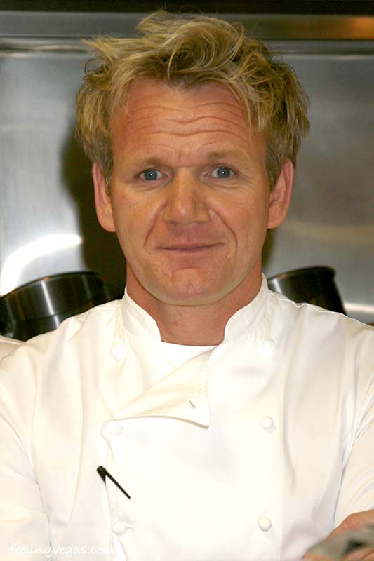 Hell's Kitchen Chef Gordon Ramsay