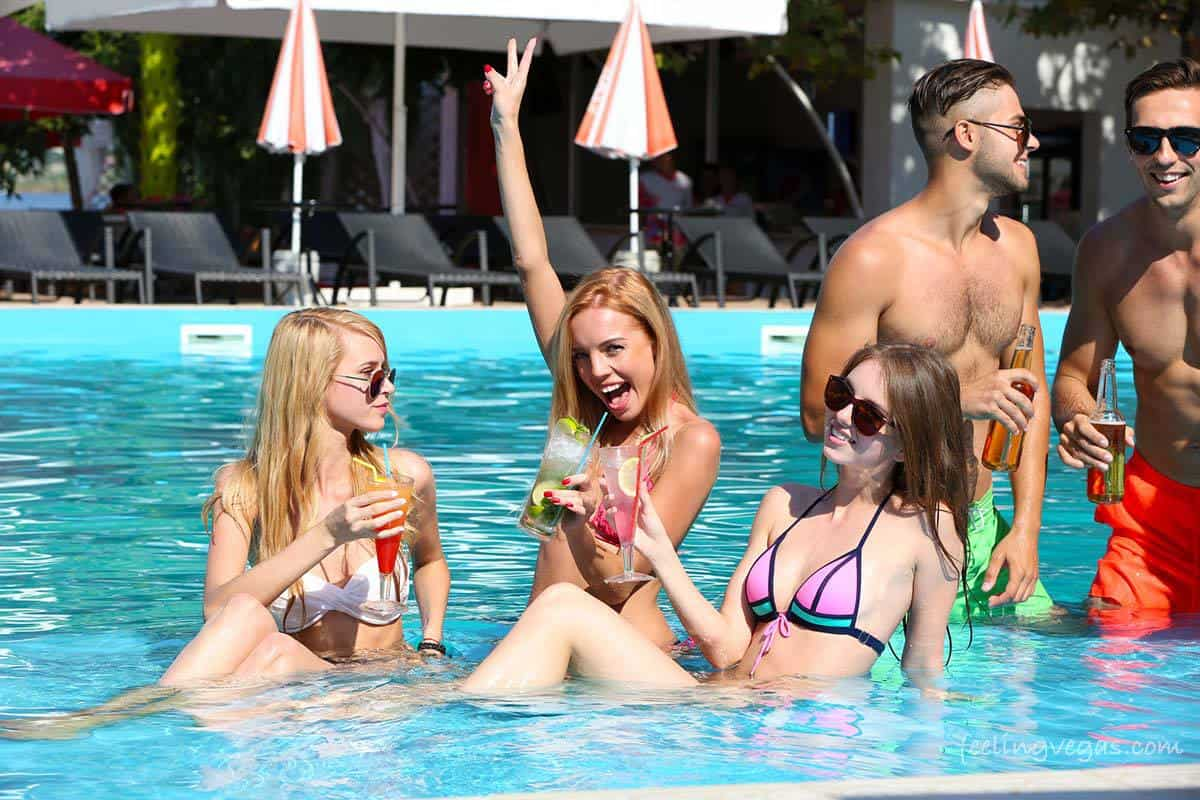 over 21 pool party las vegas