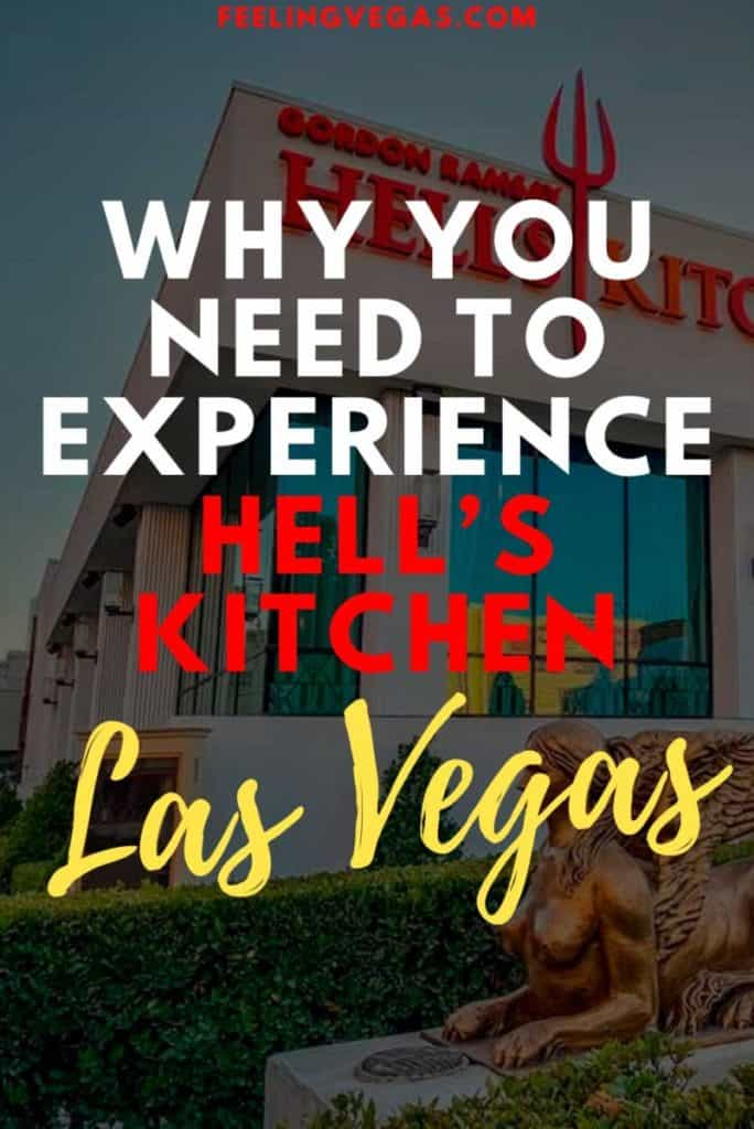 Find out what it costs to eat at Hell's Kitchen in Las Vegas.
