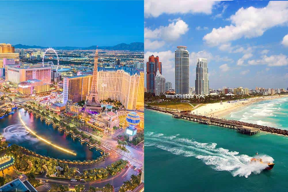 Las Vegas vs Miami for vacation?