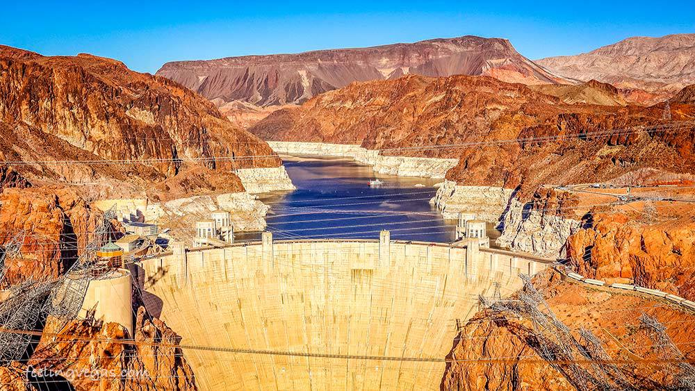Hoover Dam is free to visit