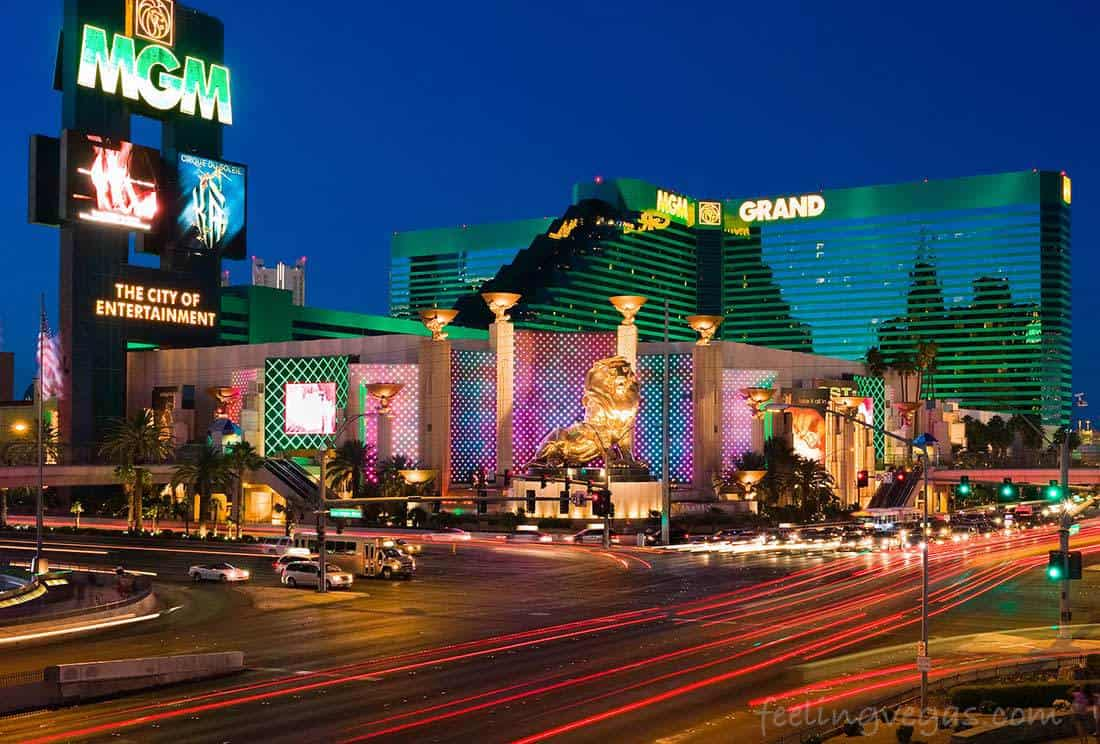 MGM Grand on the Las Vegas Strip