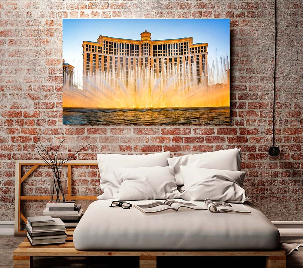 Las Vegas photography prints & wall art. Decorative photographs of Las Vegas and the American Southwest.