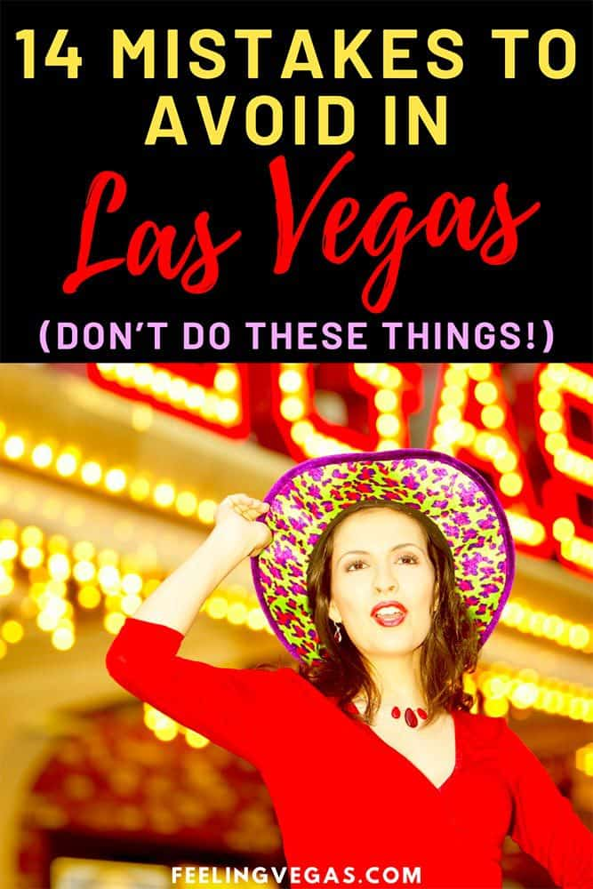 Mistakes to avoid in Las Vegas pin