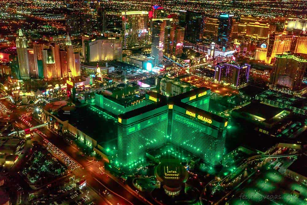 The MGM Grand is the biggest hotel in Las Vegas with almost 7,000 rooms.