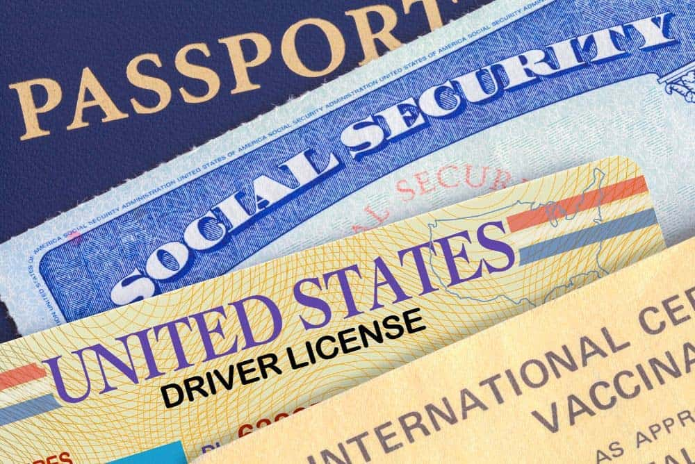 Forms of personal identification for cashing checks in Las Vegas casinos
