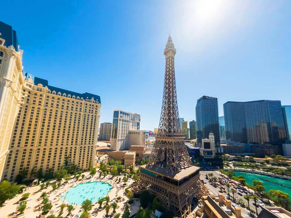 The Soleil Pool at Paris Las Vegas