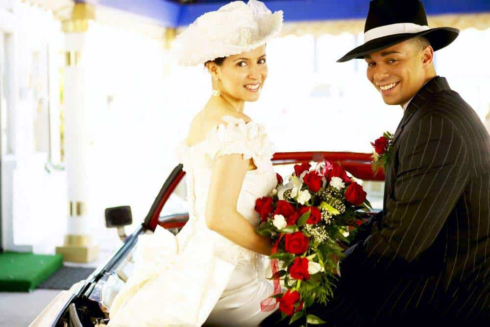 Las Vegas wedding are legally recognized around the world.