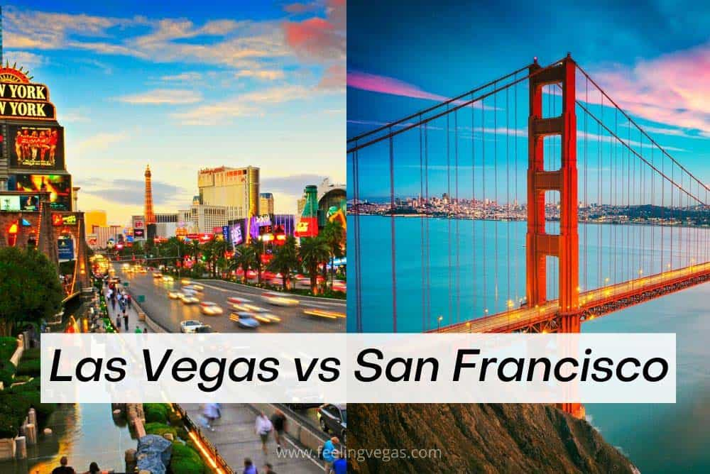 Las Vegas or San Francisco for vacation
