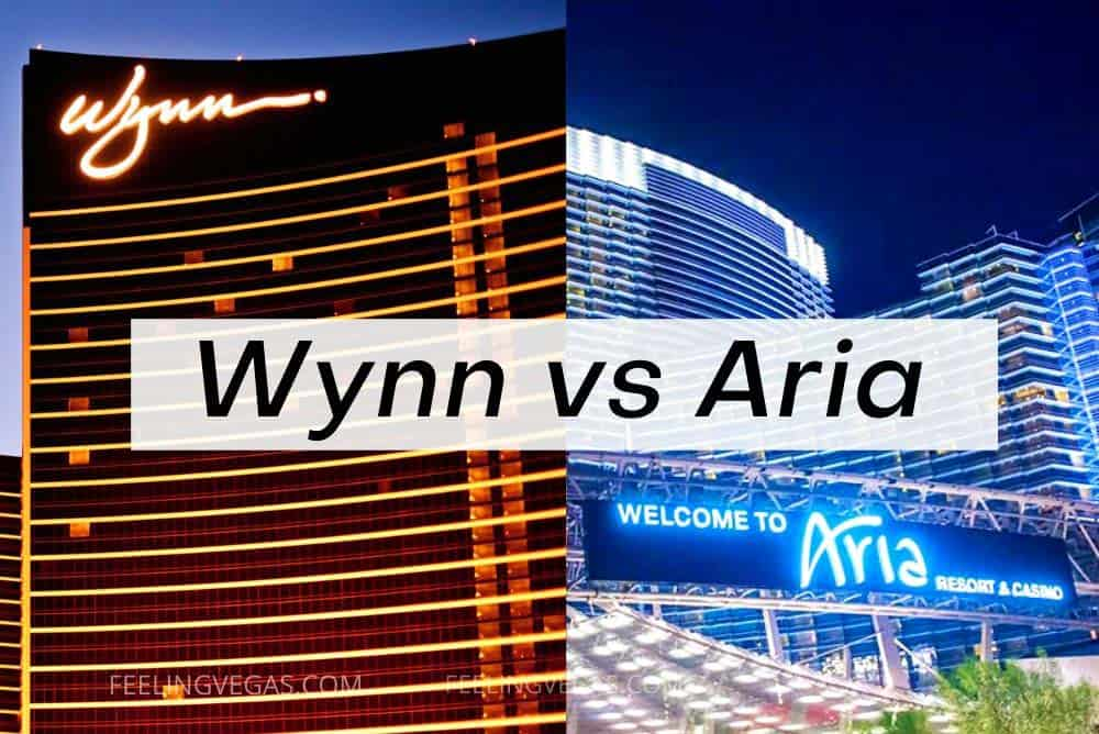 wynn vs aria in Las Vegas
