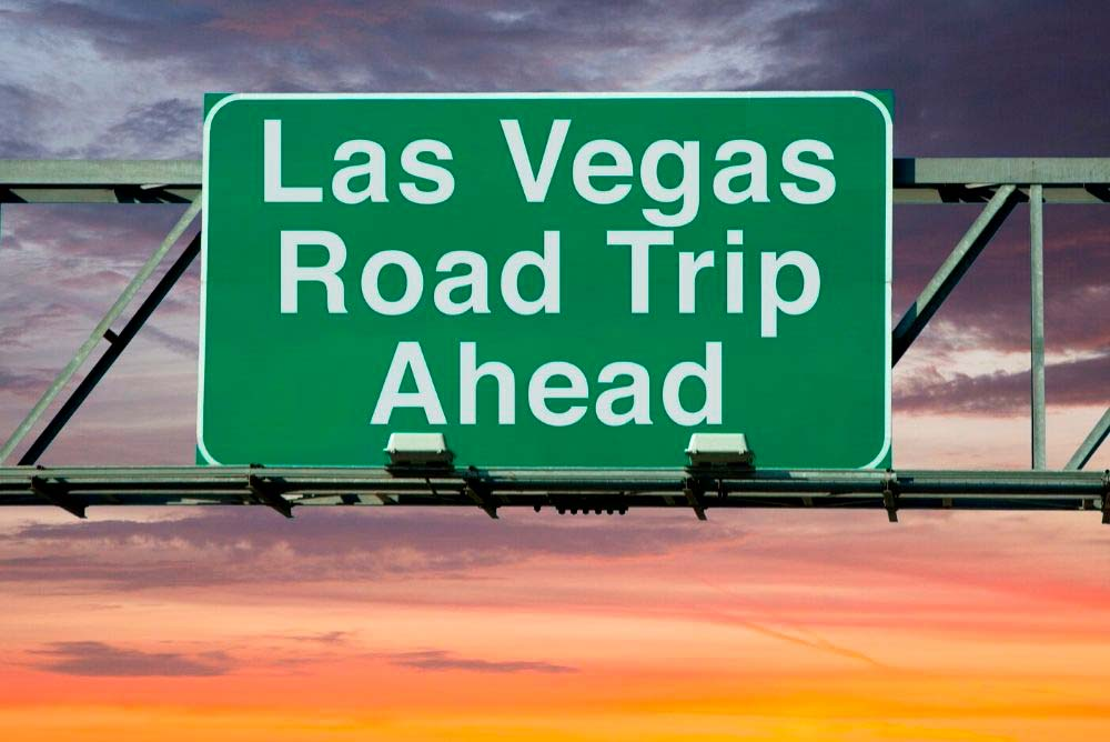Road trip to Las Vegas from Los Angeles