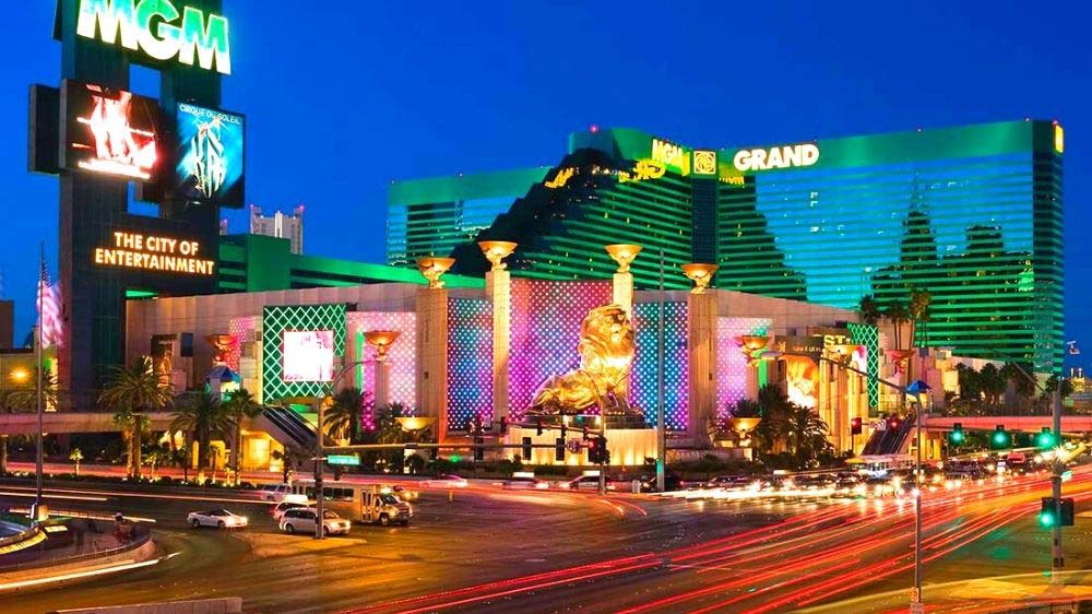 The MGM Grand on the Las Vegas Strip is a great choice for families with kids.