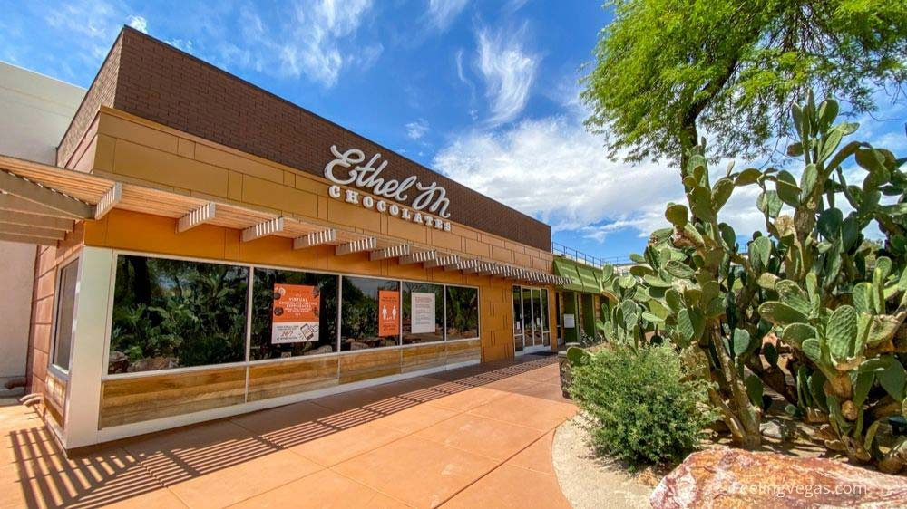 Entrance to Ethel M Chocolate Factory in Las Vegas