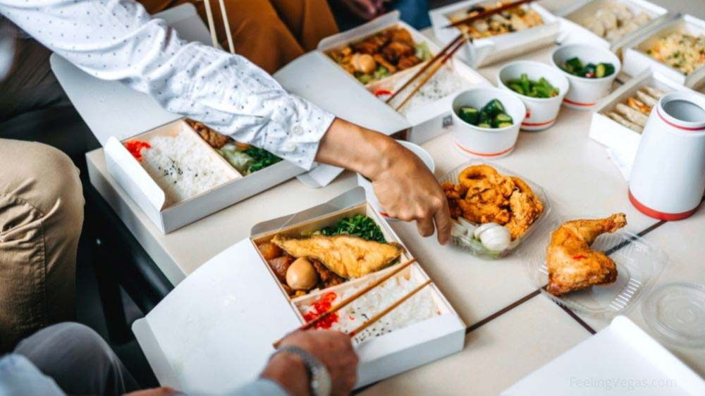 Can you get food delivered to a hotel in Vegas?