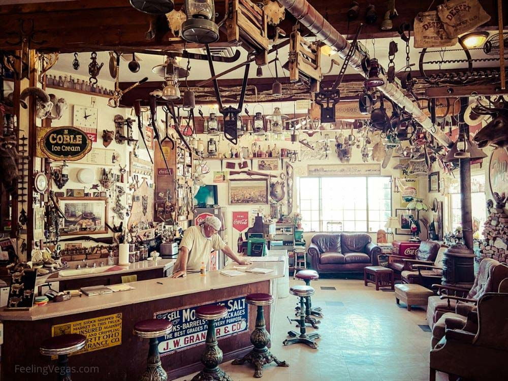 Nelson ghost town general store.