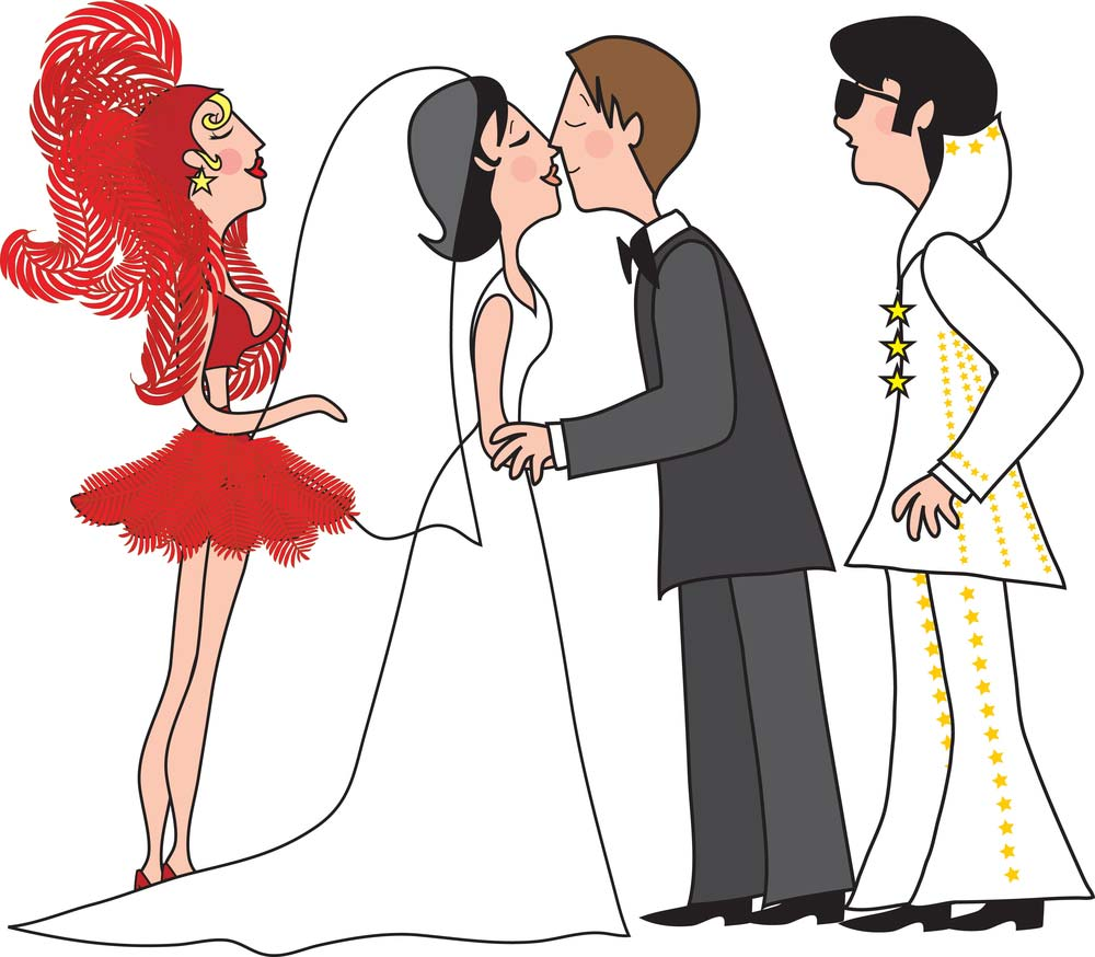 Did you know you can have a fake wedding in Las Vegas?