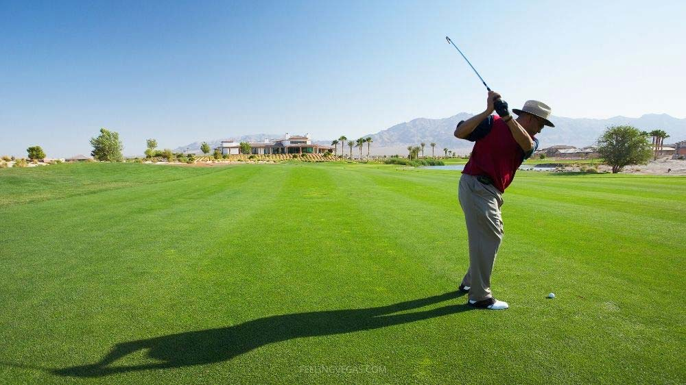 Golfing is a year-round sport in Las Vegas, NV