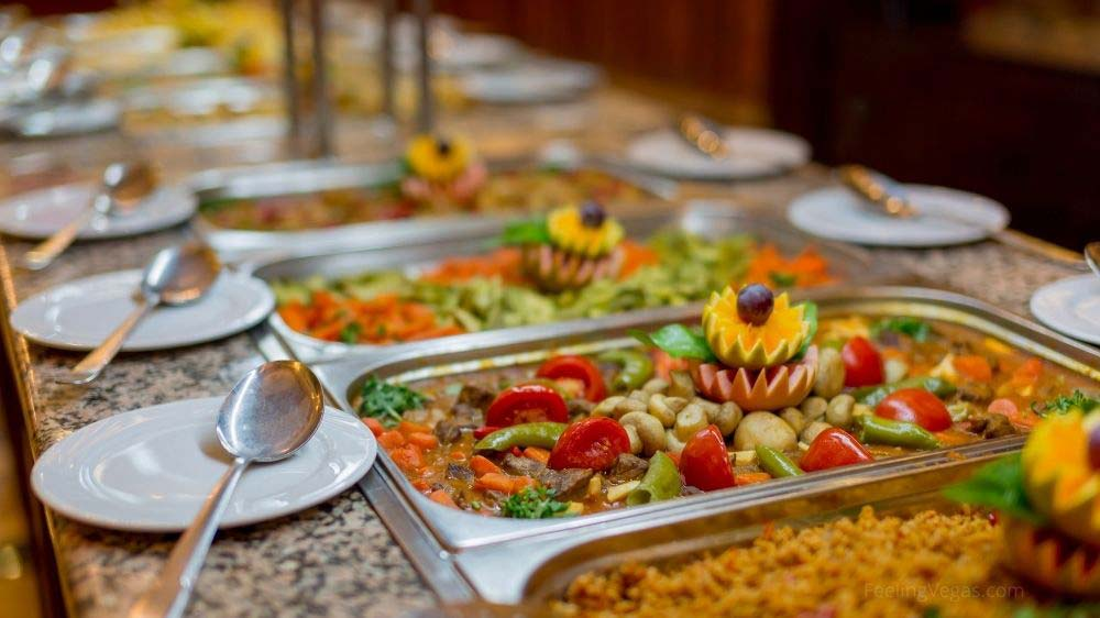 Las Vegas has an amazing variety of buffets. Find out which ones are open.