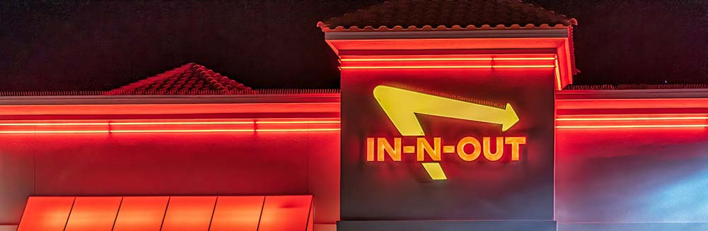 In-N-Out Burger on the Las Vegas Strip is a great place to grab a quick and affordable meal.
