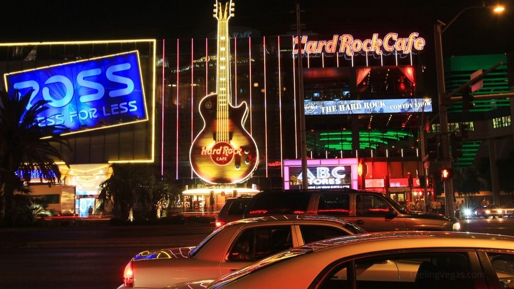 Ross Dress For Less on Las Vegas Blvd. is right next to the Hard Rock Cafe.